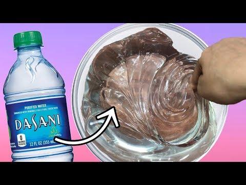 DIY WATER SLIME! (NO GLUE) (видео)