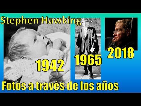 Stephen hawking fotos a través de los años