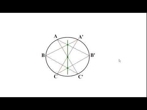 A 16 Year Old Discovered This AMAZING Geometry Hidden Pattern. Pascal's Theorem