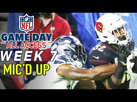 """NFL Week 7 Mic'd Up! """"How did he catch me?"""" 