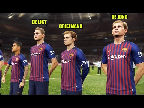 Barcelona's Potential Starting Line-Up Next Season 2019/2020 | PES 2019