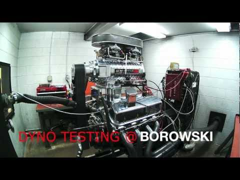 Supercharged 588 BBC produces 1200 horsepower