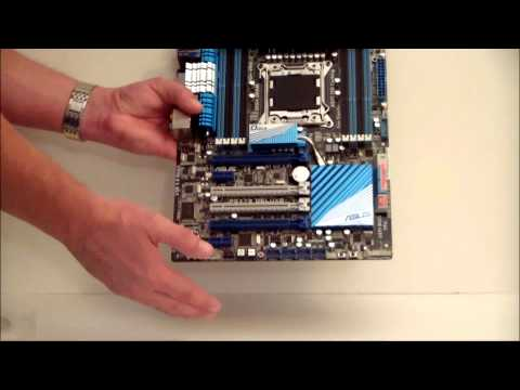 ASUS P9X79 Deluxe Motherboard Overview