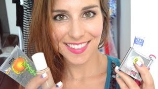 $20 Waterproof Summer Makeup & DIY Face Primer and Finishing Spray! | Bailey B. - YouTube