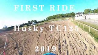 4. FIRST RIDE HUSQVARNA TC 125 2019  [GoPro MX Mantova]