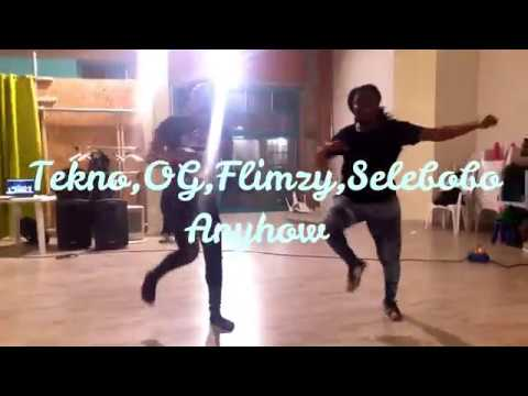 Tekno, OG, Flimzy, Selebobo - Anyhow (Dance Video ) Choreography// @Clayton_thereal X @Leonel_bizon