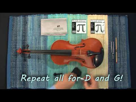 Video - How To Change Your Violin Strings Like A Professional!