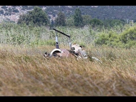 Σχινιάς: Πτώση ιδιωτικού ψεκαστικού ελικοπτέρου με δυο νεκρούς