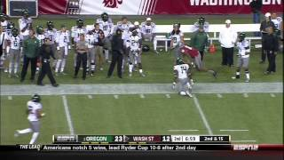 Marquess Wilson vs Colorado & Oregon (2012)
