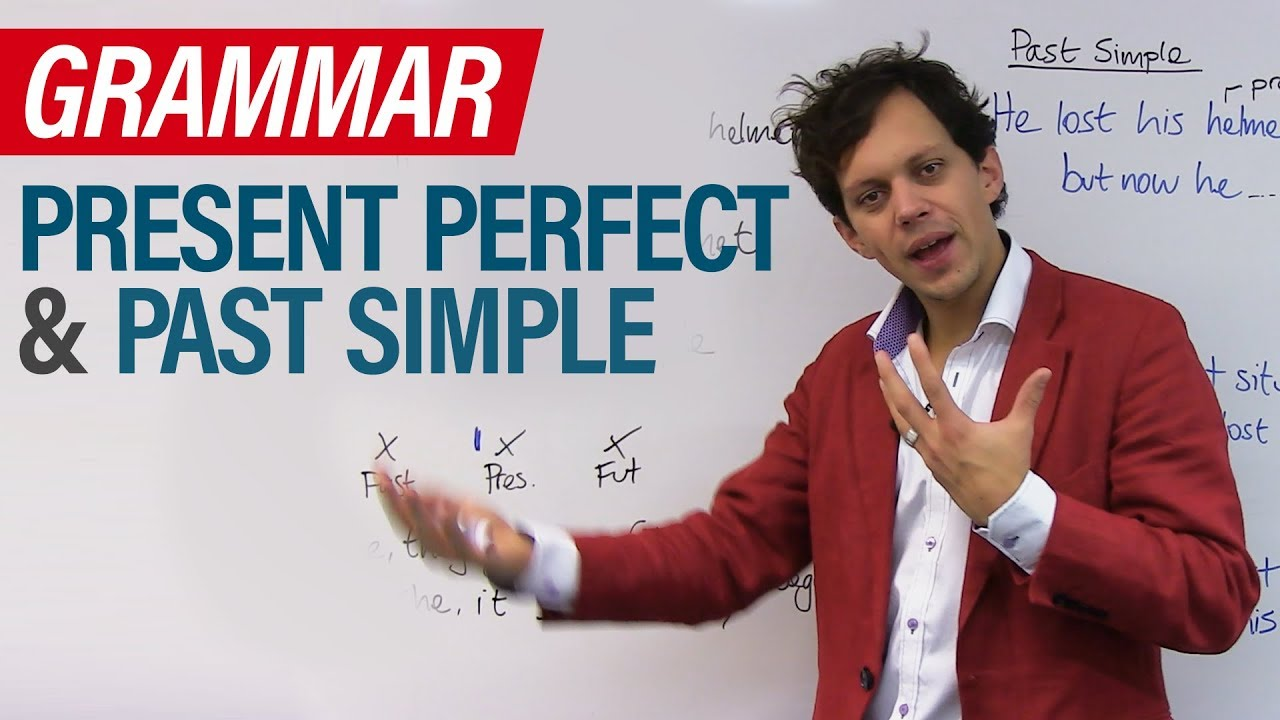 english tenses  how to use present perfect and past simple