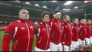 Just look at the emotion on Leigh Halfpenny and Alun wyn Jones Faces Cymru Am Byth! Please don't use offensive language or...