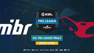 MIBR vs mousesports - ESL Pro League S8 Finals - map1 - de_train [TheCraggy & MintGod]