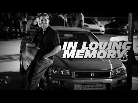 Our Tribute To Paul Walker - See You Again (Wiz Khalifa Ft. Charlie Puth)