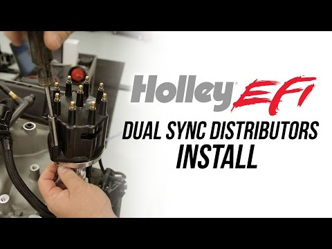 Holley EFI Dual Sync Distributor Install