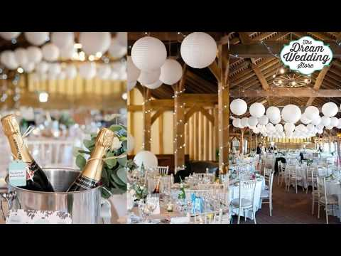 How to decorate with Paper Lanterns for Wedding and Special Celebrations