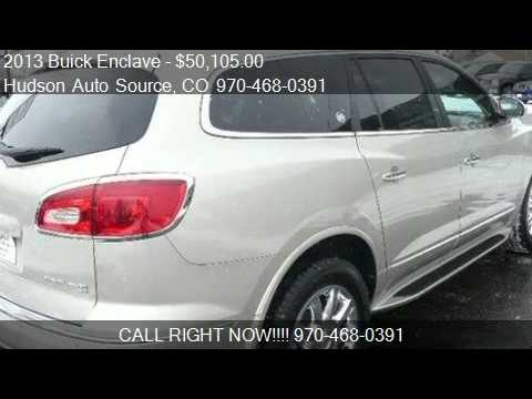 2013 Buick Enclave Premium AWD - For Sale In Silverthorne, C