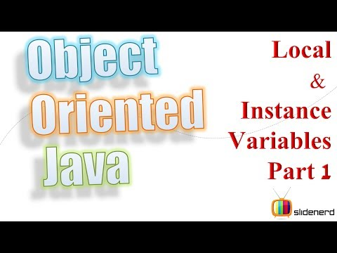 #19 Java Variable Scope Part 1: Object Oriented Java Tutorial For Beginners [HD 1080p]