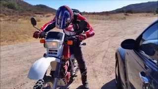 5. Honda xl600r in Action