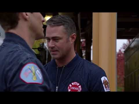 "Brett & Casey [Chicago Fire] 9x02 ""That Kind of Heat"" - Casey talks to Severide"