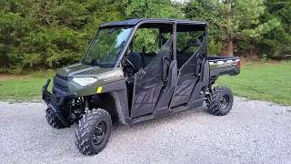 8. 2019 Polaris Ranger Crew 1000xp Sage Green first impressions