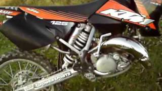 9. 2003 KTM 125 SX