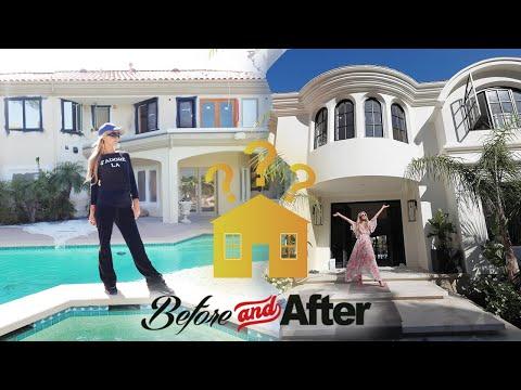Paris Hilton Renovates Her Home - House Tour 2020!