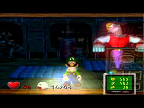 Luigi's Mansion - After the Bottom of the Well, we get a move on into the next wing of the mansion!