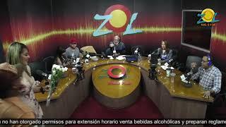 Joaquin se pone rojo con las preguntas de la Licenciada Zulenny Gomez en Elmismogolpe