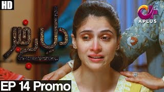 Dil e Bekhabar - Episode 14 Promo Drama Title: Dil-e-Bekhabar Written by : Maha Malik Directed by : Syed Ahmed Kamran Produced by : Kolachi Media OST Singer:...