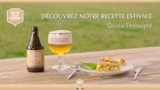 Recettes Quiche Poteaupré - Pairing Chimay