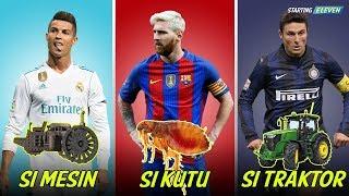 Video Julukan Pemain Sepak Bola Di Dunia Super Konyol ● GOKIL SOB ● Starting Eleven MP3, 3GP, MP4, WEBM, AVI, FLV Oktober 2017