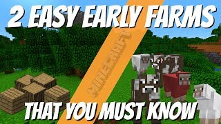 Video Minecraft My Favourite Early Game Farms You Need by Avomance Minecraft Farm Tutorials MP3, 3GP, MP4, WEBM, AVI, FLV September 2019