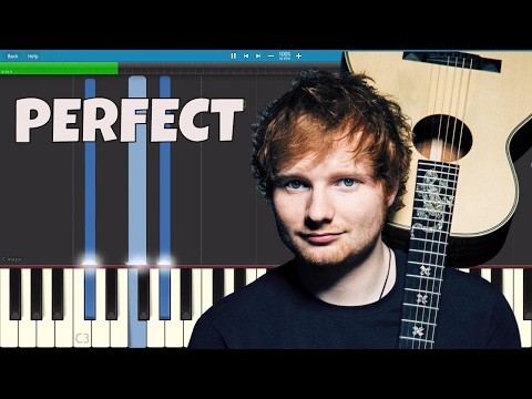 Ed Sheeran - Perfect - Piano Tutorial Instrumental