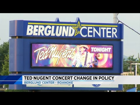 Pro-gun rocker Ted Nugent turns away firearms from his Roanoke show