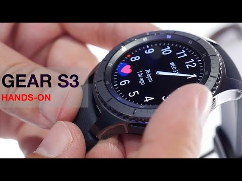 Samsung Gear S3 Frontier and Classic - Hands-on