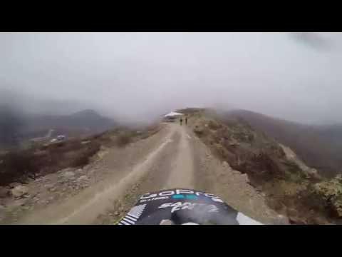Primer round nacional Downhill 2015, Santa Eulalia, Chihuahua, México.