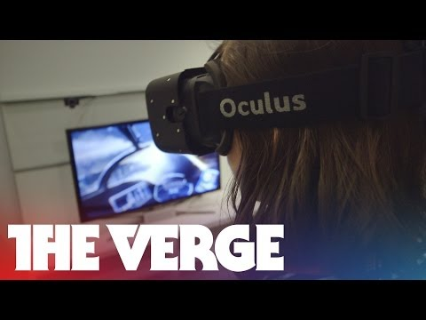 Oculus Crystal Cove prototype hands-on