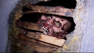 FULL Shallow Grave Haunted Hills haunted house 2014 POV walkthrough
