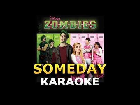 "Milo Manheim Meg Donnelly - Someday (from ""ZOMBIES"") LYRICS Karaoke"