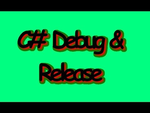 C# 2010 Switch Twixt Debug and Release Mode