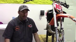 9. How to change the Fork Seals on a KTM 65 SX Motocross Bike