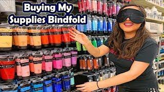 Video BUYING MY ART SUPPLIES BLINDFOLDED MP3, 3GP, MP4, WEBM, AVI, FLV Juli 2019