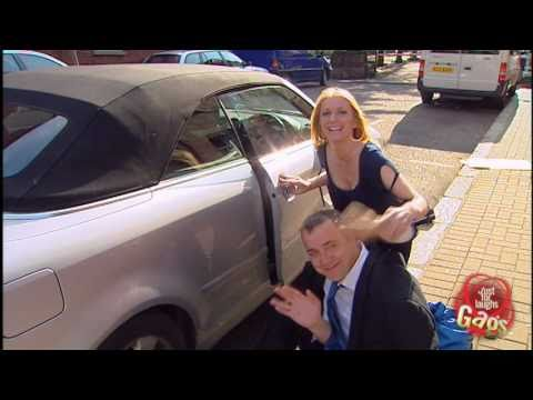 Hand Stuck In Car Door Prank