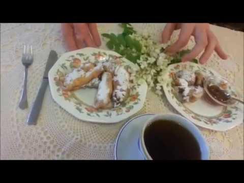 fiori di acacia in pastella - ricetta