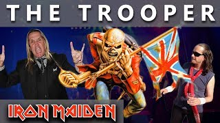 """This one is for all real Iron Maiden fans. I've got a lot of requests for The Trooper drum cover. I hope you like it! Don't forget to subscribe and support! - http://bit.ly/MikiMaidenMIKI MAIDEN Equipment: ▼►Yamaha Drums: Yamaha Beech CustomTom Tom 12""""Tom Tom 13"""" Flor Tom 16""""Snare Drum - Spirit Of Maiden ( Limited Edition ) 14""""Bass Drum pedal - DW 9000Hi- Hat Stand - DW 5000►Remo Drumheads:Bass - Evans eq4 Snare - Front - Remo Cantrolled Sound CoatedSnare - Back - Remo Ambasador Hazy Snare SideTom-Tom & Flor Tom - Front  -  Remo Ambasador X CoatedTom-Tom & Flor Tom  -  Back - Remo Ambasador Ebony►Paiste Cymbals:Hi-Hat - Paiste Signature Reflector Heavy Full Hi-Hat 14""""Ride - Paiste Signature Reflector Bell Ride 22"""" ( Powerslave )Crash - Paiste Signature Reflector Heavy Full Crash 17""""Crash - Paiste Signature Reflector Heavy Full Crash 18""""Crash - Paiste Signature Reflector Heavy Full Crash 19""""Crash - Paiste Signature Reflector Heavy Full Crash 20""""Crash - Paiste Signature Reflector Full Crash 16""""Crash - Paiste RUDE Crash/Ride 17""""China - Paiste Signature Reflector Heavy China 18""""DynaVox custom drum sticks - Blaz McSatler►Sound Recording:Roland - R 26 (6 Channel Digital Field)Microphone - 2x Rode NT 5 - Cardioid Studio CondenserIpod nano (space gray)►Video Recording:1x GoPro Hero 5 Black2x GoPro Hero 4 BlackIron Maiden Drum Cover  Drum solo  Drummer  Drum Set  Nicko McBrain  Best Drum CoverSpecial thanks to Wind Orchestra Zelezarjev Ravne for help and support ►http://bit.ly/zelezarjiPeace out ☮"""