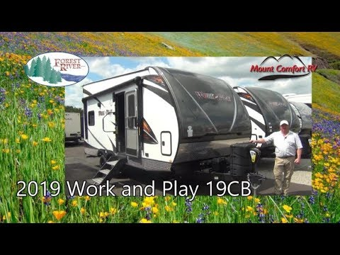 NEW 2019 Forest River Work And Play 19CB | Mount Comfort RV