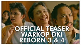 Nonton Official Teaser WARKOP DKI REBORN 3 & 4 | Coming Soon 2019 Film Subtitle Indonesia Streaming Movie Download