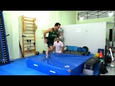 Reabilitação de Joelho   -  Atleta Olimpico.