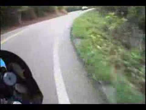 motorcycle crash wreck