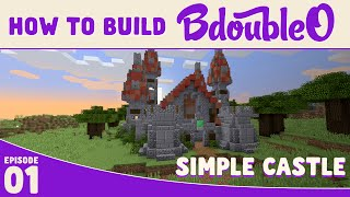Minecraft Tutorial :: How to build Simple Castle